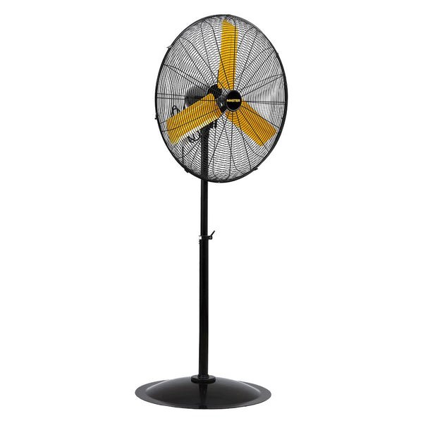 Master MAC-30P High Velocity Pedestal Fan w/ 3-Speed, 8500/7000/6000 CFM, 30""