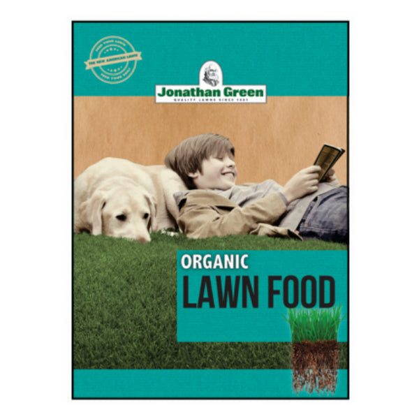 Jonathan Green 10251 Organic Lawn Food, 10-0-1, 15000 Sq. Ft.