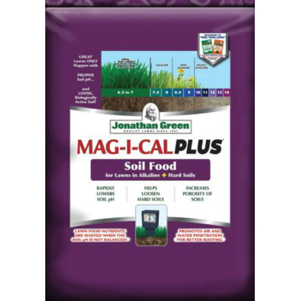 Jonathan Green 11357 MAG-I-CAL Plus for Lawns in Alkaline + Hard Soil,15000 SqFt