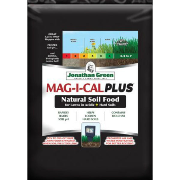 Jonathan Green 11355 MAG-I-CAL Plus for Lawns in Acidic + Hard Soil, 15000 Sq.Ft