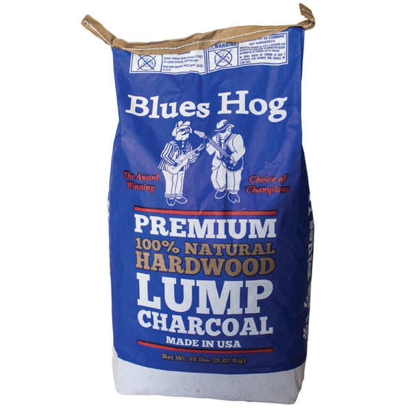Blues Hog CP90920 Natural Hardwood Lump Charcoal, 20 lbs