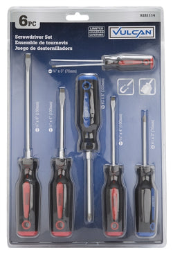 6-Piece TOOLBASIX SD-SET-1 Screwdriver Set