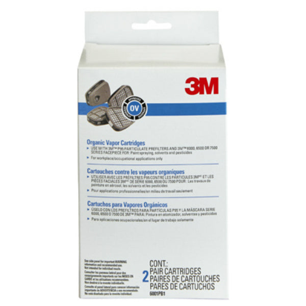 3M 6001P1-DC Organic Vapor Replacement Cartridge