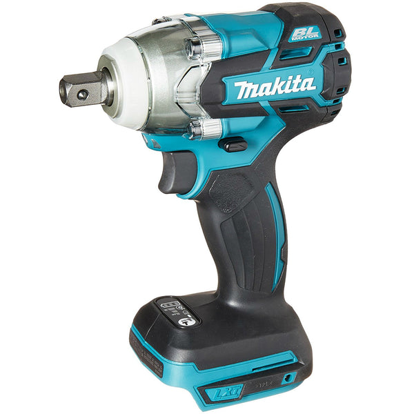 "Makita XWT11Z LXT Lithium‑Ion Brushless Cordless 3‑Speed 1/2"" Impact Wrench, 18V"