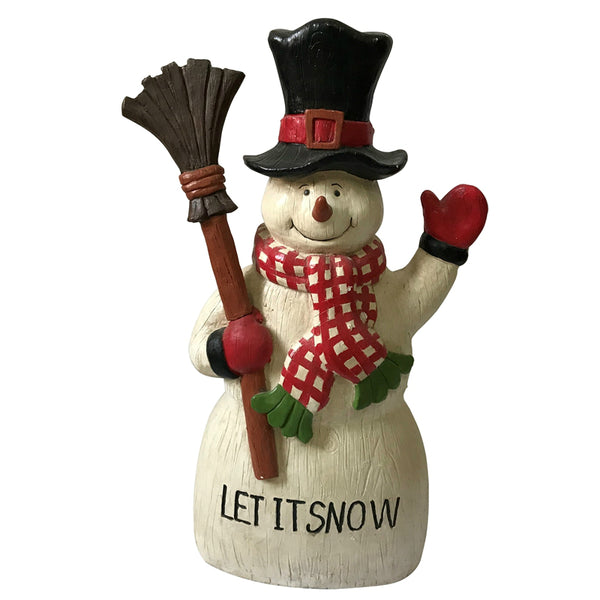 Santas Forest 87303 Let-It-Snow Christmas Snowman, 27""