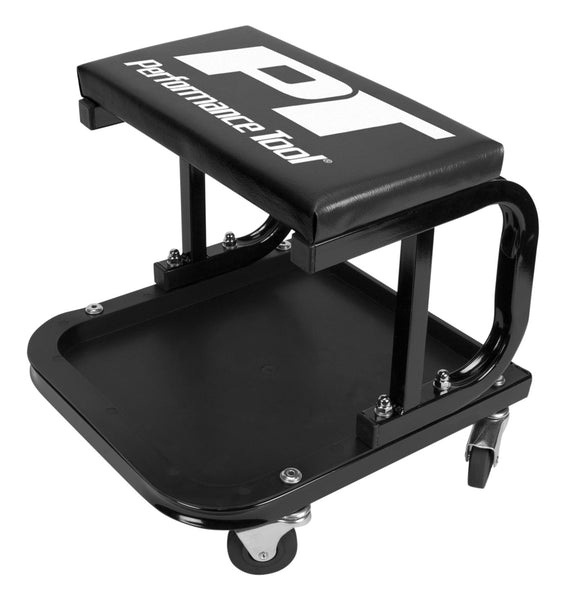 Performance Tool W85007 D-Frame Creeper Seat,  250 Lb Load Capacity