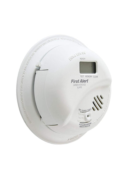 First Alert CO5120PDBN Hardwired Carbon Monoxide Alarm with Digital Display