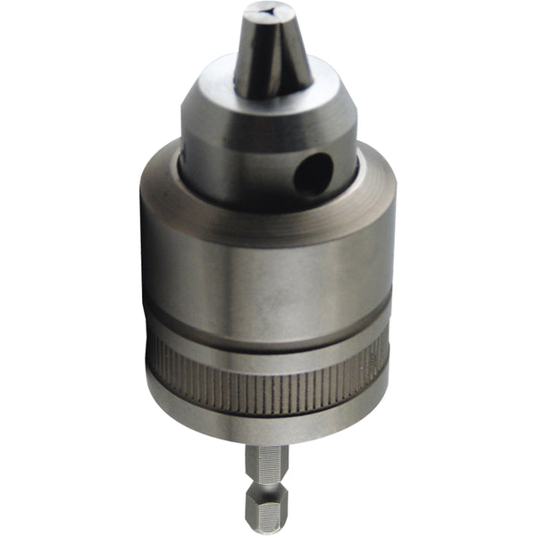Makita 763198-1 Metal Impact Driver Keyless Chuck Adapter, 3/8""