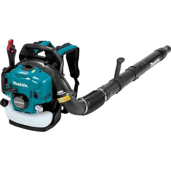 Makita EB5300WH MM4 4‑Stroke Engine Hip Throttle Backpack Blower, 52.5 cc