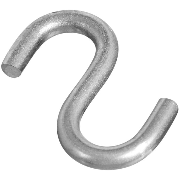 National Hardware N197-186 Heavy Open S-Hook, Stainless Steel, 1-1/2""