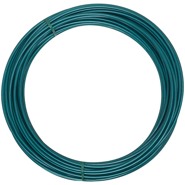 National Hardware N269-902 Green Plastic Coated Steel Clothesline Wire, 600'