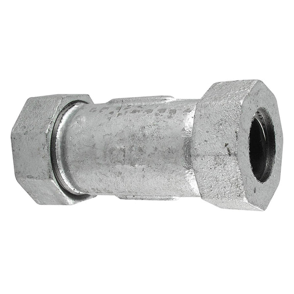 B&K 160-006HP Galvanized Pipe Repair Compression Coupling, 1-1/4""
