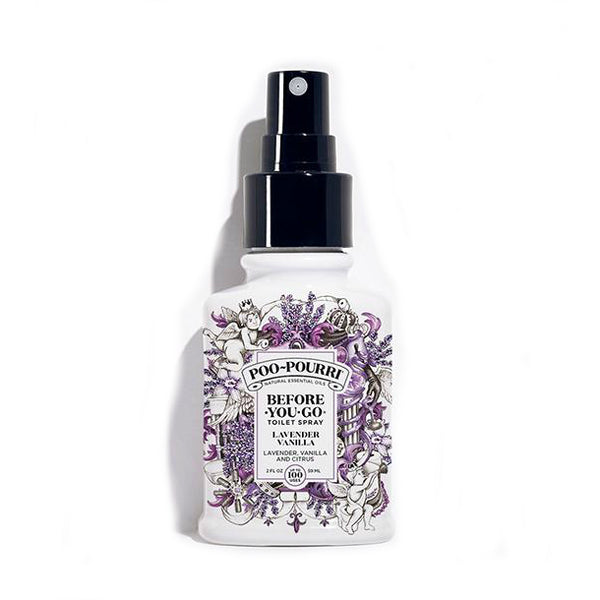 Poo-Pourri PRE-POS-002-LV Before-You-Go Toilet Spray, Lavender Vanilla, 2 Oz