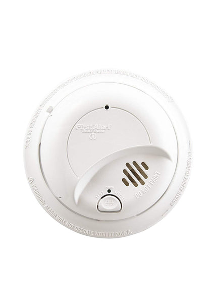 First Alert 1039809 Hardwired Ionization Smoke Alarm with Battery Backup