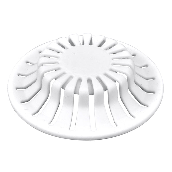 Danco 10769 Bathroom Sink Hair Catcher, White