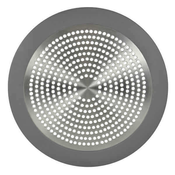 Danco 10895 Stainless-Steel Shower Strainer, Brushed Nickel, 5-3/4""