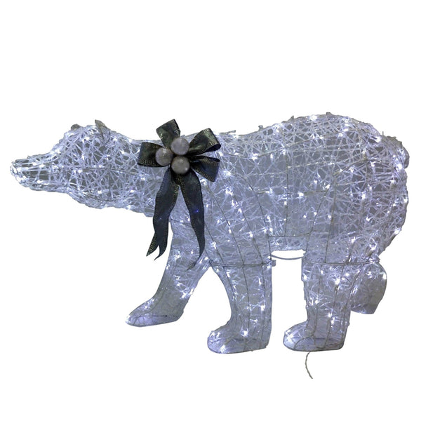 Santas Forest 59311 LED Christmas Polar Bear, 3-D, 48""
