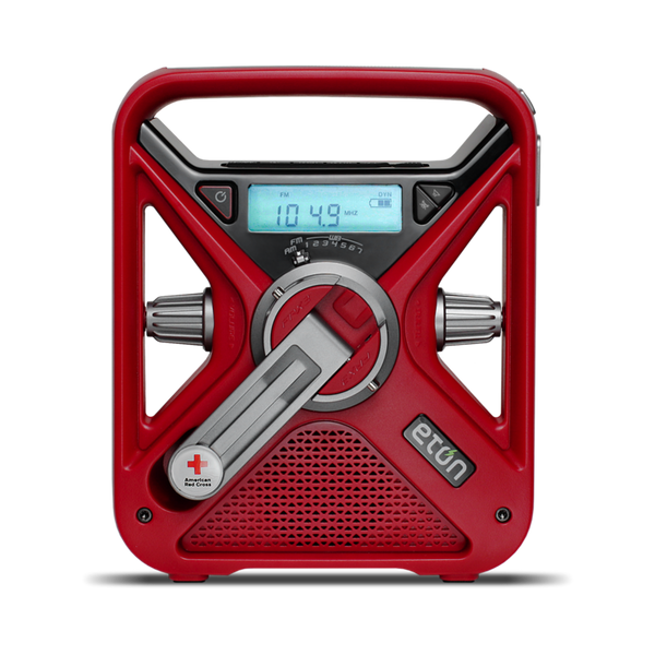 Eaton ARCFRX3-WXR American Red Cross FRX3+ Multi-Powered Weather Alert Radio