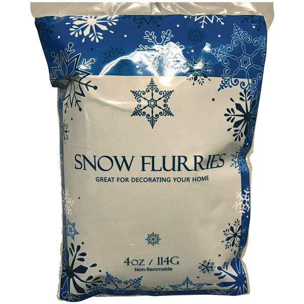 Santas Forest 81465 Christmas Artificial Snow Flurries, 4 Oz