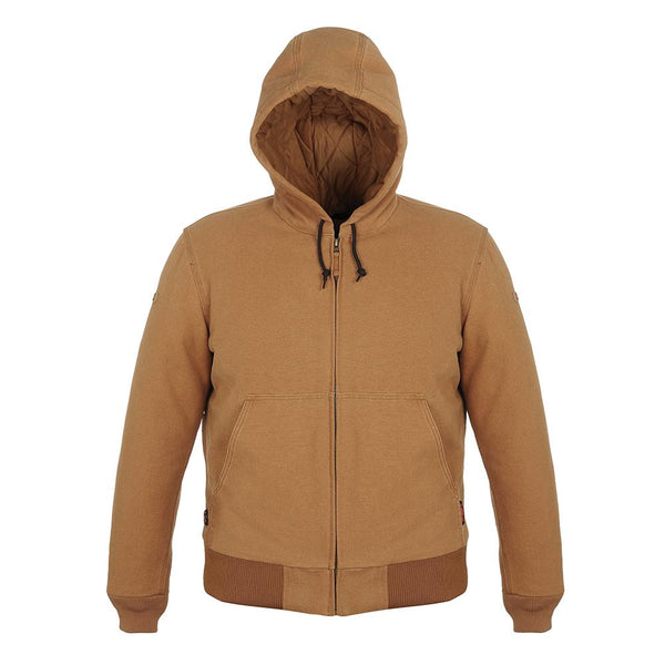 Mobile Warming MWJ18M13-16-05 Bluetooth Foreman Heated Jacket, 12V, Tan, XL