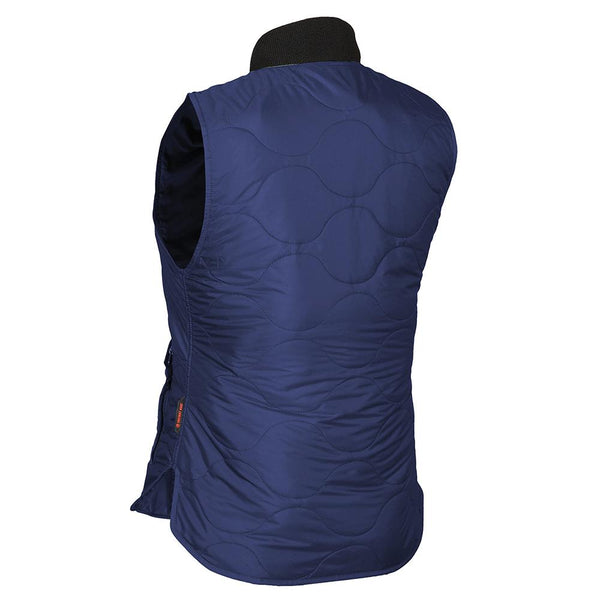 Mobile Warming MWJ18W08-06-05 Bluetooth 7.4 Volt Womens Vest, Navy, XL