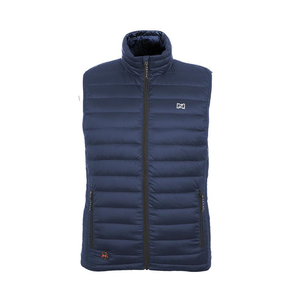Mobile Warming MWJ18M08-06-04 Bluetooth Endeavor Heated Vest, Navy, 12V, Large