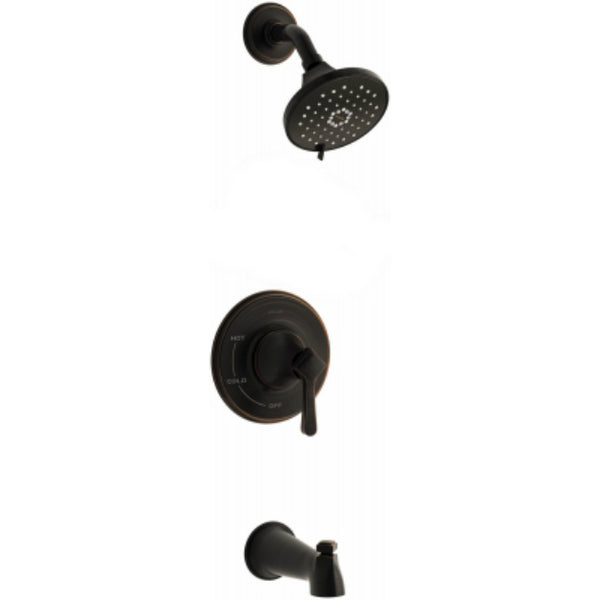 Kohler R99913-4G-2BZ Georgeson Bath/Shower Faucet w/ 3-Spray, Oil Rubbed Bronze