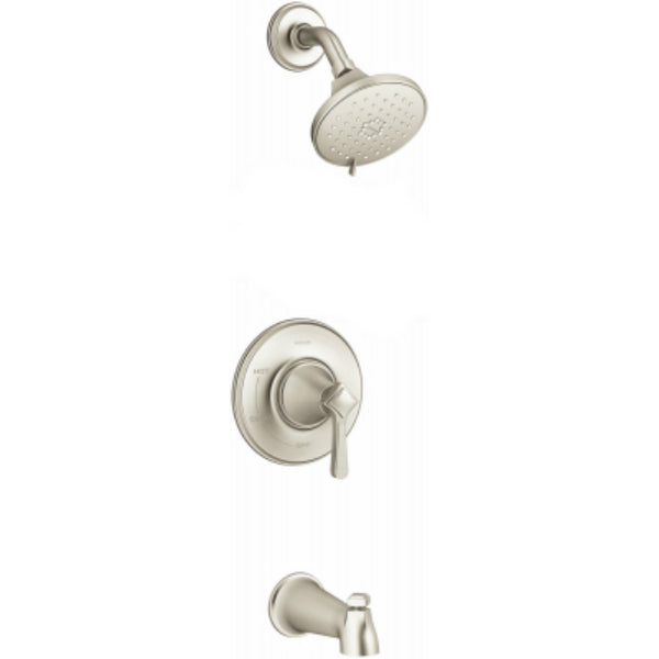 Kohler R99913-4G-BN Georgeson Bath/Shower Faucet w/ 3-Spray, Brushed Nickel