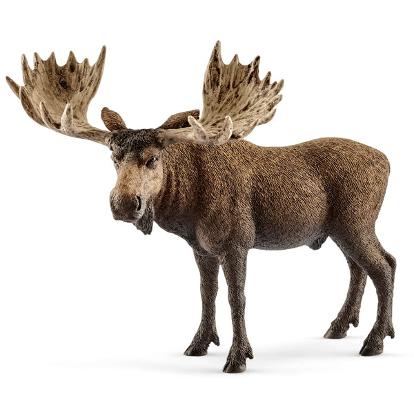 Schleich 14781 Figurine Moose Bull Toy