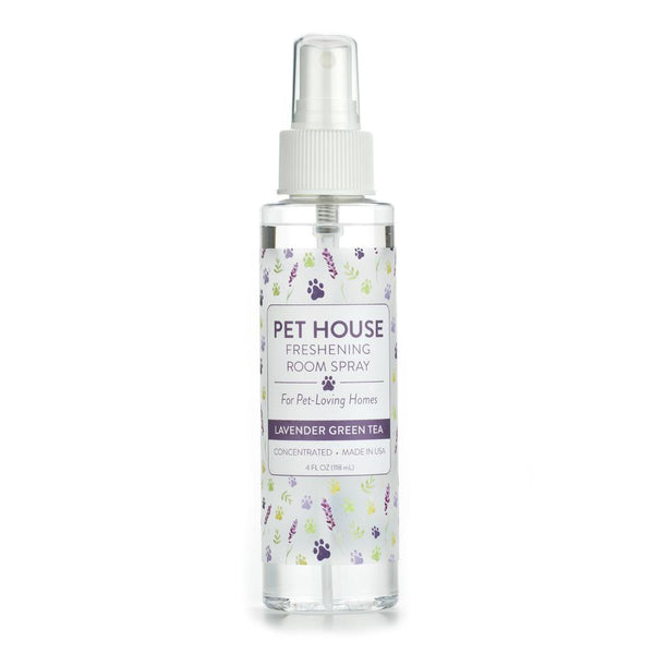 Pet House 40962 Lavender Green Tea Freshening Room Spray, Concentrated, 4 Oz