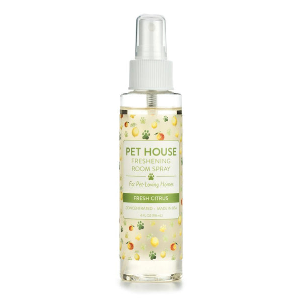 Pet House 40944 Fresh Citrus Freshening Room Spray, Concentrated, 4 Oz