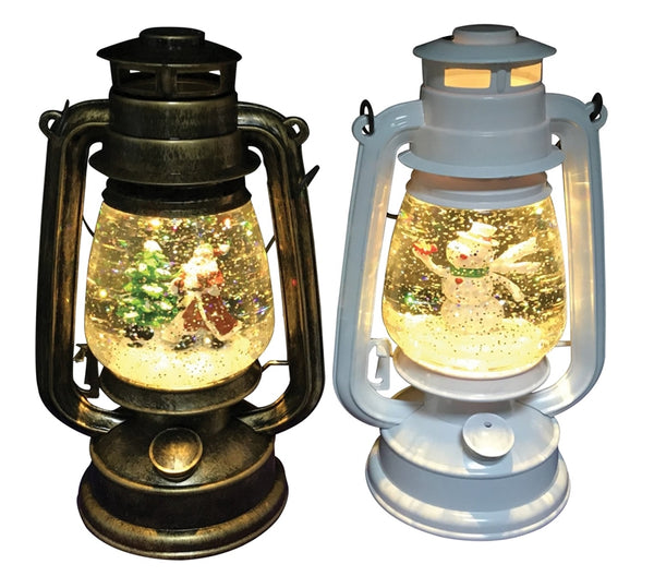Santas Forest 21317 Christmas Assorted Colors LED Lantern, 10""