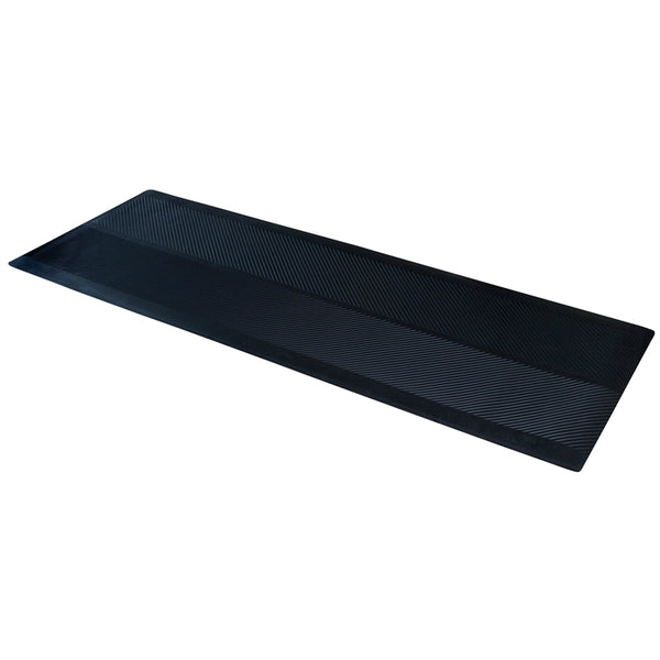 "Dimex 0045750 Climatex Indoor / Outdoor Rubber Runner Mat, Black, 27"" x 72"""