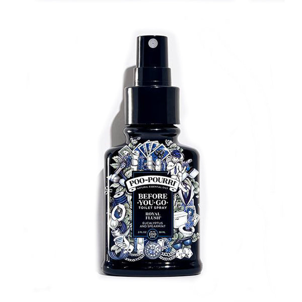 Poo-Pourri PRE-POS-002-RF Before-You-Go Toilet Spray, Royal Flush, 2 Oz