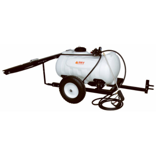 SMV 40TW403HLB2G3N Deluxe Trailer Sprayer with 4 GPM 12V Diaphragm Pump, 40 Gal