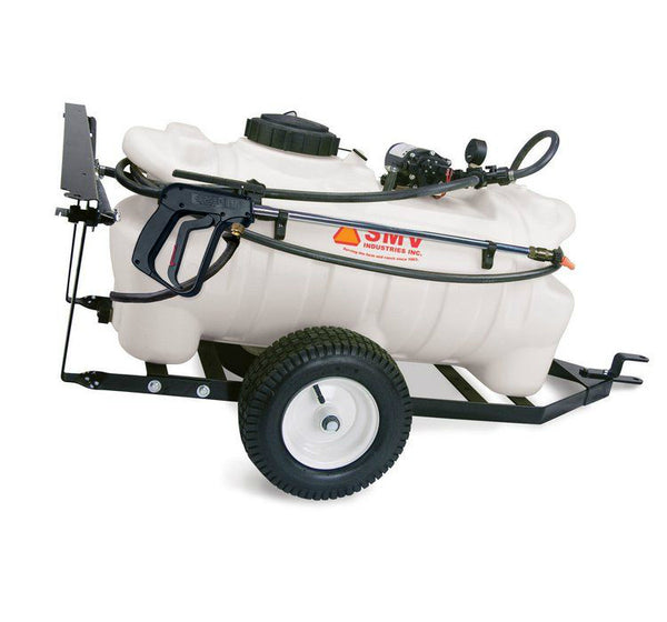 SMV 25TW202HLB2G2N Deluxe Trailer Sprayer with 2.0 GPM Pump, 25-Gallon
