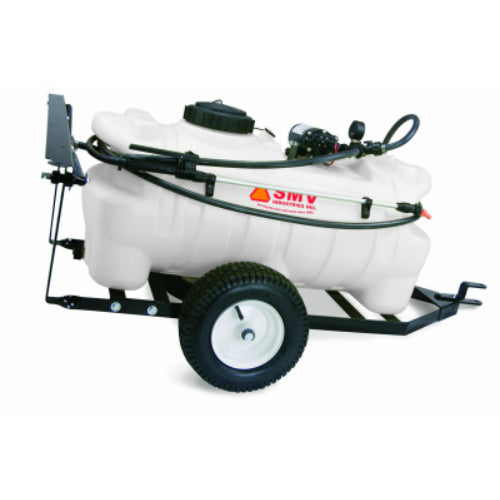 SMV 15TW202HLB1G2N Trailer Sprayer with 2.0 GPM 12-Volt Diaphragm Pump, 15 Gal