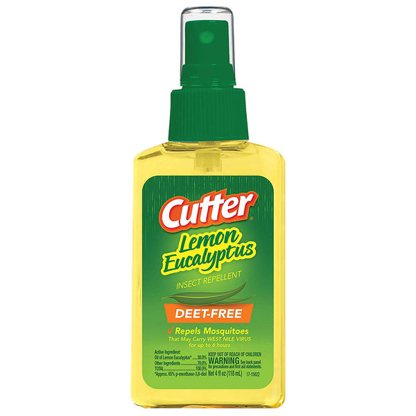 Cutter HG-96014 Lemon Eucalyptus Insect Repellent Pump Spray, 4 Oz