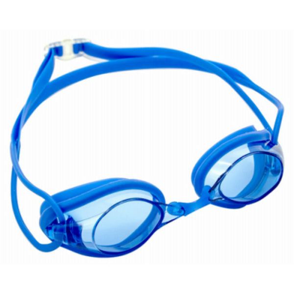Aqua Leisure AQG10388 Tri-Force Adult Swim Goggle With Silicone Racing Strap