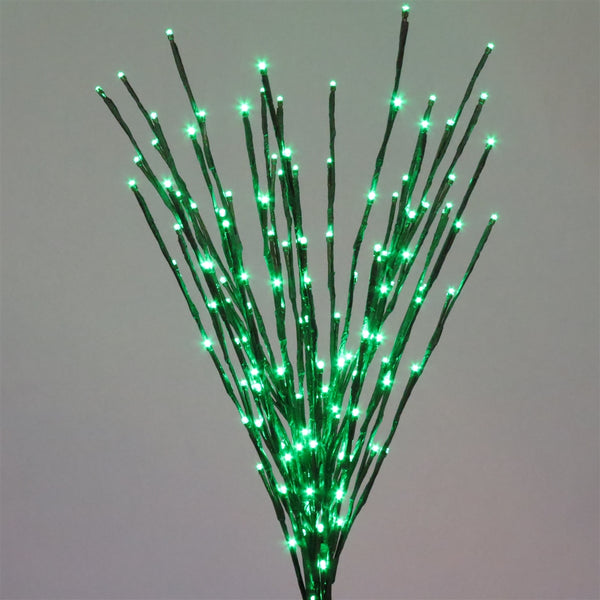 Holiday Bright LED-LBRST140-GR Christmas Staked LED 140 Green Light Burst, 36""