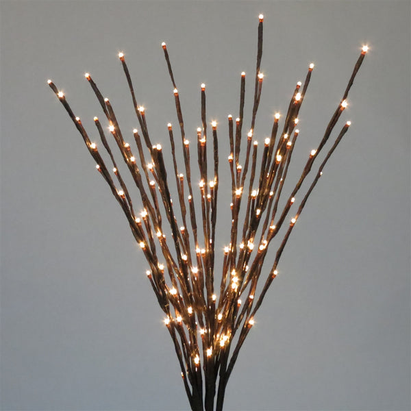 Holiday Bright LED-LBRST140-WW Christmas Staked LED 140 Warm White Light Burst, 36""
