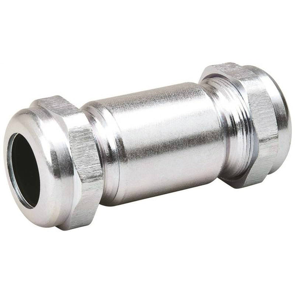 B&K 160-007HP Galvanized Compression Coupling, 1-1/2""
