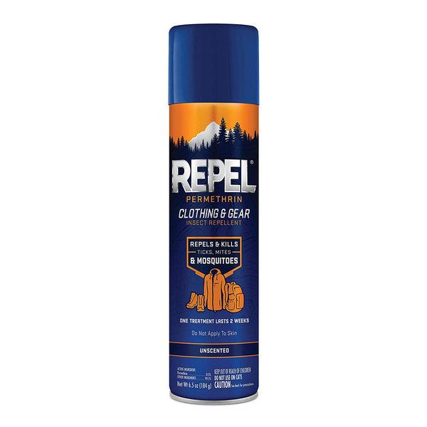 Repel HG-34127 Permethrin Clothing & Gear Insect Repellent, Aerosol, 6.5 Oz