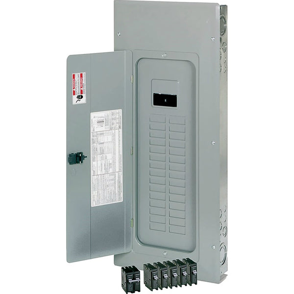 Eaton BRP30B200V25 Type-BR Main Breaker Load Center, 10 kA, 120/240 VAC, 200A