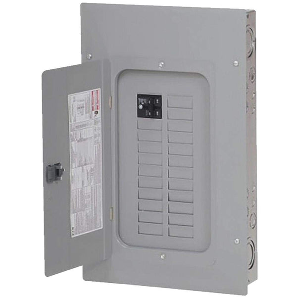 Eaton BRP20B100 Main Breaker Installed Plug On Neutral Load Center, 100A