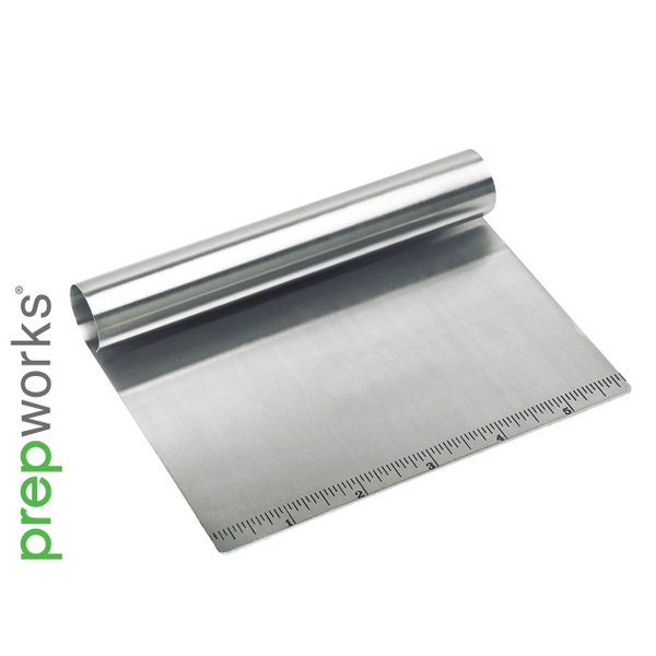 "Prepworks LGK-3620 Bash 'n Chop with 6"" Measurement Ruler, Stainless Steel"