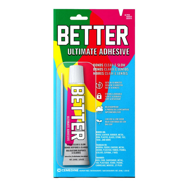 Better AX-210 Ultimate Clear Extended Dry Adhesive, 0.67 Oz