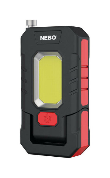 Nebo 6683 WorkBrite Grab Rechargeable 3-In-1 LED Work Light w/Extendable Magnet