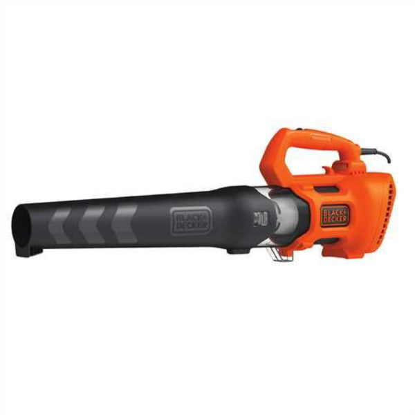 Black & Decker BEBL750 Corded Electric Axial Leaf Blower, 9 Amps