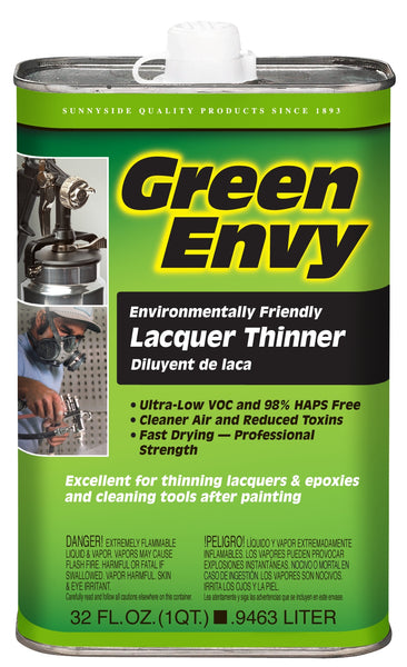 Green Envy 46932 Lacquer Thinner, 1 Qt